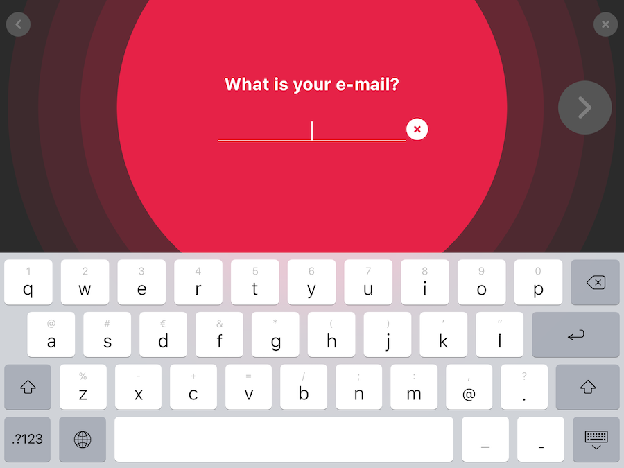 PPSK Kiosk ask question to visitor for email